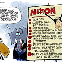Claytoon of the Day: Nixon Derangement Syndrome