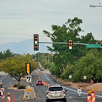 Sabino Canyon Road repaving project