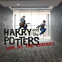 Harry and the Potters, Live at the Library!