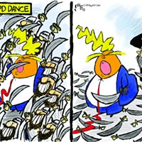 Claytoon of the Day: Sword Dance