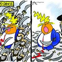 Claytoon of the Day: Sword Dance