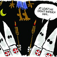 Claytoon of the Day: Trump Lynching