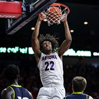 Zeke Nnaji's Double-Double Helps Arizona Rout San Jose State, 87-39
