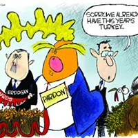 Claytoon of the Day: Trump's Gobbler