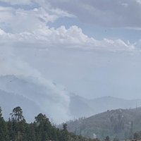 Bighorn Fire 75 percent contained, minimal growth expected