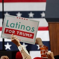 Trump support among Latinos steady; still trails Democrats by far