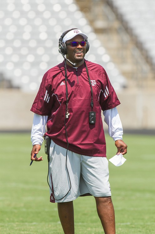 Former Texas A&M and Houston Coach Kevin Sumlin - WIKIMEDIA COMMONS