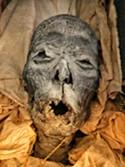 Mummy face. - BRIAN SMITH