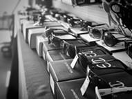 Sunglasses in Abe's shop. - BRIAN SMITH