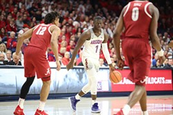 Rawle Alkins is averaging 13.6 points per game and 4.1 rebounds per game for Arizona this season. - ARIZONA ATHLETICS