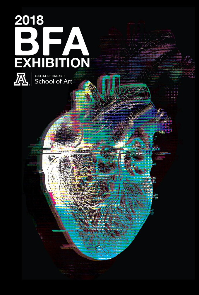 Poster design by Andrea Howlett, UA BFA candidate