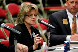 Supervisor Ally Miller continues her role as Pima County's greatest laughingstock. - FILE PHOTO/RANDY METCALF/TUCSON LOCAL MEDIA