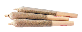 Pre rolls from Earth's Healing top the list