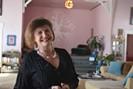 Kimberly Henderson inside the Blue Door Sanctuary - DANYELLE KHMARA