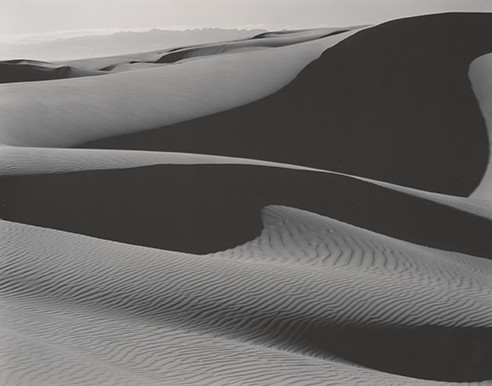 Edward Weston, Dunes, Oceano, 1936, © 1981 Arizona Board of Regents - COURTESY