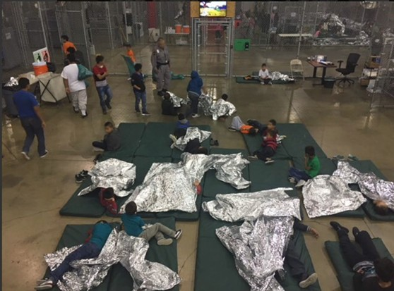 A detention facility in McAllen, Texas - COURTESY U.S. CUSTOMS AND BORDER CONTROL