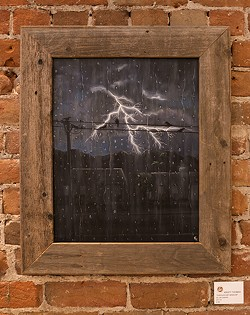 """Through My Window,""by Kristy Thomas, oil on canvas - COURTESY"