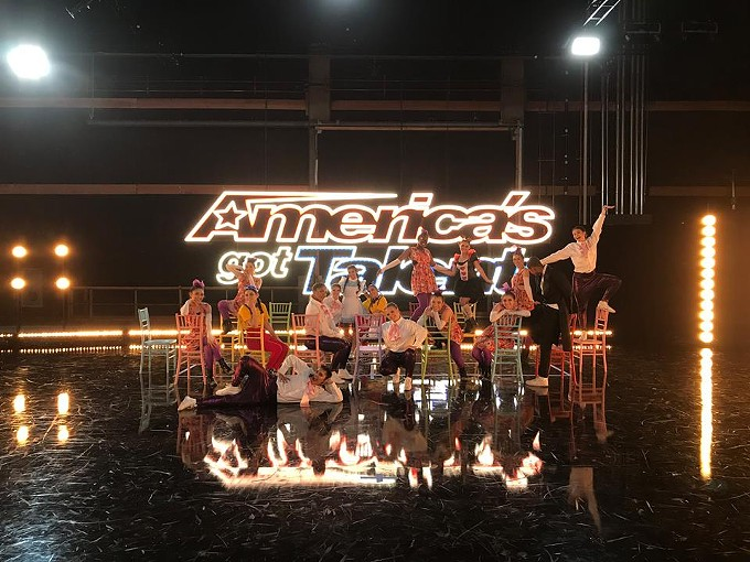 PAC Dance Team at America's Got Talent - COURTESY
