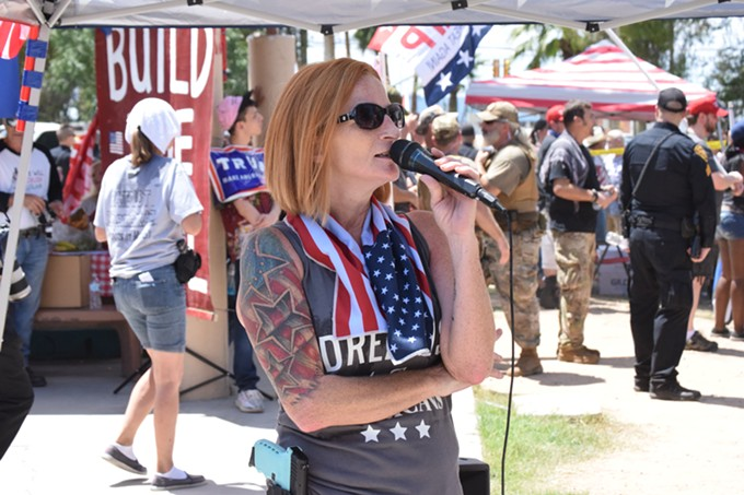 Patriot Movement AZ leader Lesa Antone