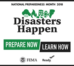 The 2018 National Preparedness Month logo. - FEMA