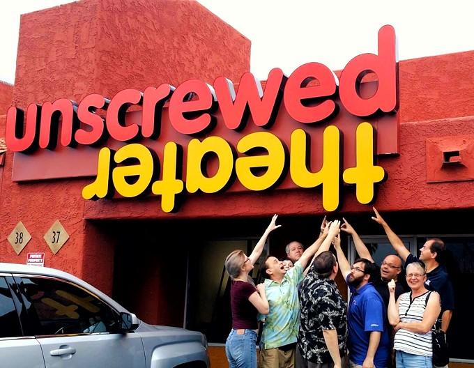 Unscrewed Theater's grand re-opening starts Sept. 7. - JODYLEE DUEK