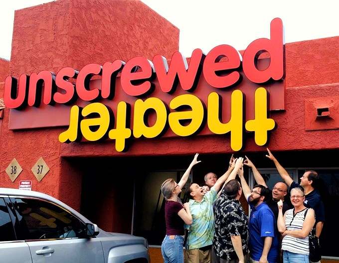 Unscrewed Theater's grand re-opening starts Sept. 7. - JODYLEE DUEK