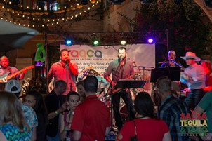 Zona Libre playing at the Salsa, Tequila & Taco Challenge, Sunday, Sept. 2. - COURTESY SAACA