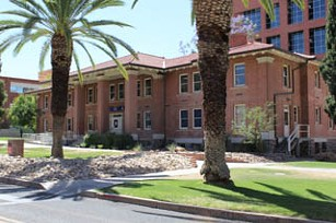 South Hall, the NROTC dorm for UA students. - COURTESY