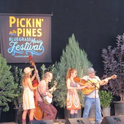 Cadillac Mountain performing at the at the Bluegrass Music Festival. - COURTESY