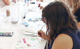 Visit the Reforma for a Watercolor Painting workshop with Creative Tribe on Friday, Oct. 12. - DOWNTOWNTUCSON.ORG