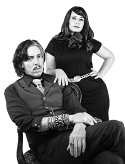 Magic Kenny and Ms. Midnight - COURTESY