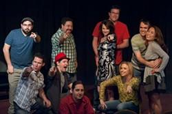 Phoenix sketch comedy team, The Cosmonauts.