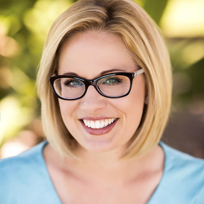 Kyrsten Sinema - COURTESY