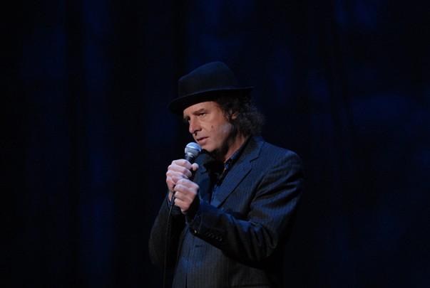 Taciturn Bosox fan Steven Wright comes to the Rialto Theatre Dec. 1. - JORGE RIOS