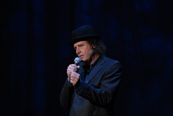 Taciturn Bosox fan Steven Wright comes to the Rialto Theatre Dec. 1. - JORGE RIOS