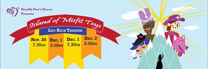 Reveille Men's Chorus Holiday Show. - COURTESY