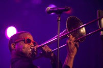 Trombone Shorty brings his horn to Centennial Hall on Friday, Jan. 18.