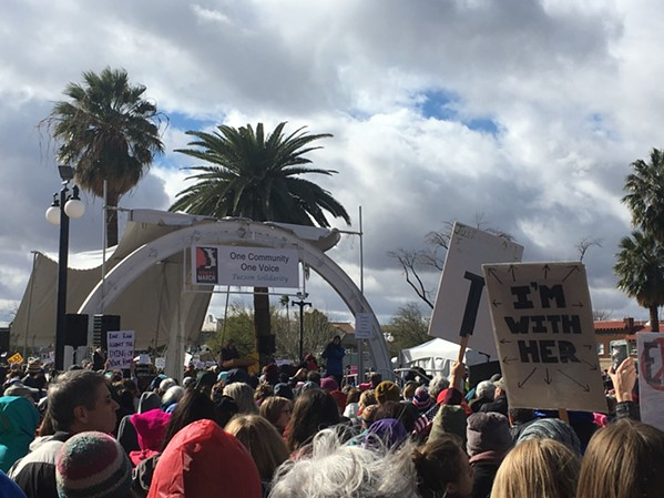 2017 Women's March in Tucson - TIRION MORRIS