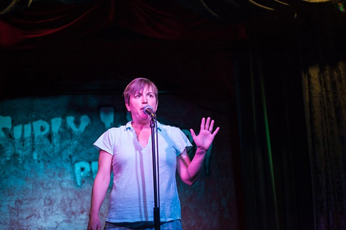Storyteller Molly McCloy is in the lineup for the HOPE Arizona fundraiser at Laff's Comedy Caffe on Sunday, Jan. 27. - NICCI RADHE