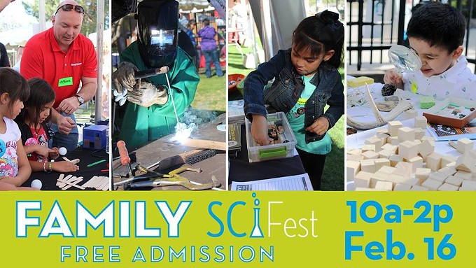 COURTESY OF FAMILY SCIFEST FACEBOOK EVENT PAGE