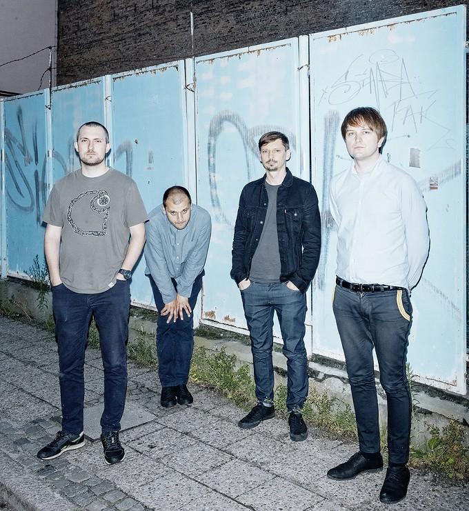 Trupa Trupa. From left: Rafał Wojczal, Wojtek Juchniewicz, Tomek Pawluczuk, Grzegorz Kwiatkowski - MICHAEL SZLAGA