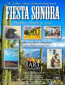 COURTESY OF SOUTHERN ARIZONA WATERCOLOR GUILD