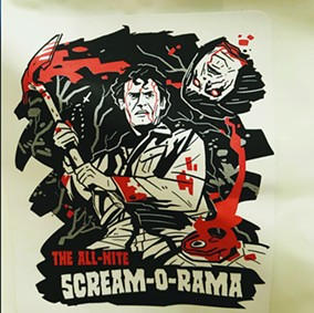 All Nite Scream-O-Rama! - COURTESY