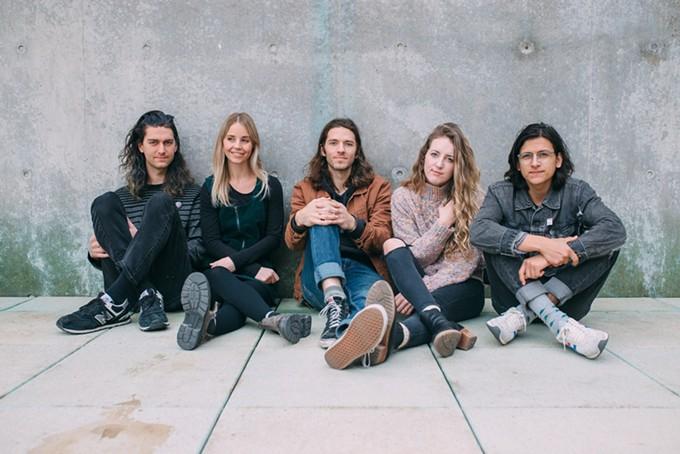 From left to right: Kyle Keller, Emma Crislip, Kyle Miller, Gretta Miller, Dan Bagley - COURTESY PHOTO