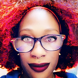 Stephanie Lyonga is among several folks breaking new ground with comedy open mics. - COURTESY