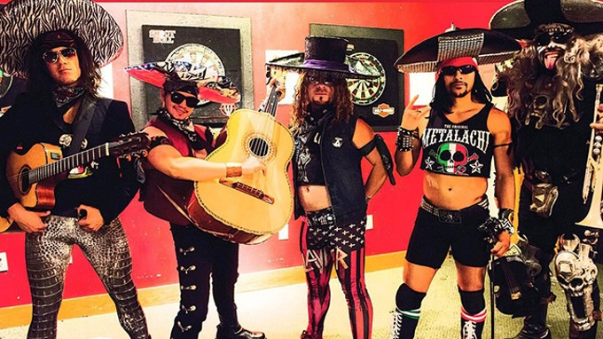 Metalachi: Sunday, June 15 @ Hotel Congress - COURTESY