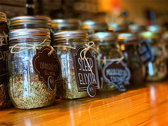 Big Heart Coffee offers elixers alongside coffee, pastries and a sense of community. - BRIAN SMITH