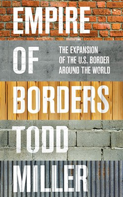 """""""Empire of Borders"""" book cover - COURTESY PHOTO"""