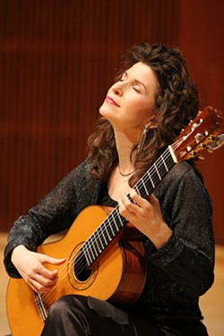 Guitarist Sharon Isbin joins the Tucson Symphony Orchestra for a November performance.