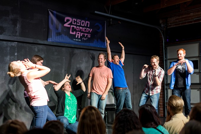 Tucson Improv Movement hosts its fifth Tucson Comedy Arts Festival Nov. 6 through 9. The event features improv, sketch and standup shows and workshops. - JEREMY SHOCKLEY